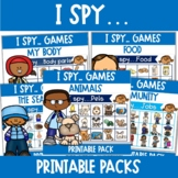 I Spy...   Language Game   Great for ESL students