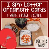 I Spy: Letter Ornament Cards