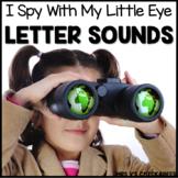 I Spy Letter Sounds Worksheets: No Prep