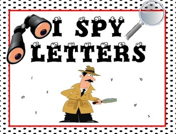 I Spy Letters!