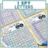#AusTeacherBFR Letter Recognition Activity and Worksheets I Spy Letters
