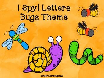 I Spy Letters! Bugs Theme