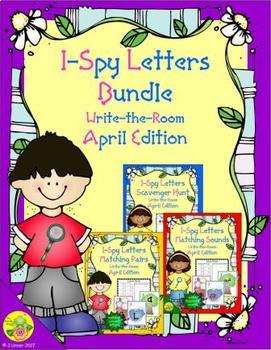 I-Spy Letters Bundle (April Edition)