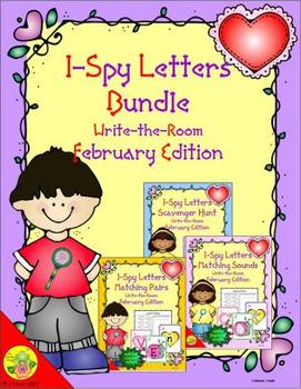 I-Spy Letters Bundle (February Edition)