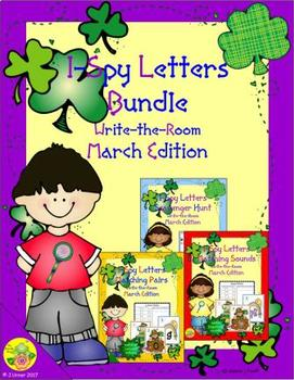 I-Spy Letters Bundle (March Edition)