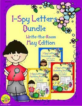 I-Spy Letters Bundle (May Edition)