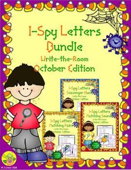 I-Spy Letters Bundle (October Edition)