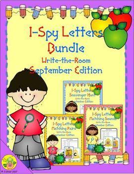 I-Spy Letters Bundle (September Edition)
