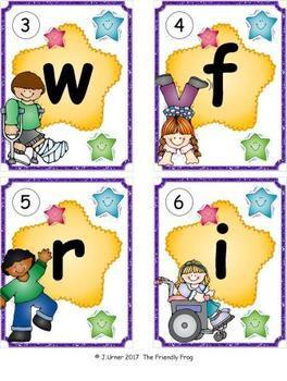 I-Spy Letters Matching Pairs Autumn GROWING BUNDLE