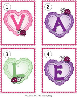 I-Spy Letters Matching Pairs (February Edition)