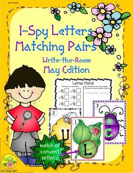 I-Spy Letters Matching Pairs (May Edition)