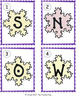 I-Spy Letters Matching Pairs Winter Bundle