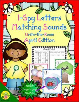 I-Spy Letters Matching Sounds (April Edition)