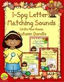 I-Spy Letters Matching Sounds Autumn Bundle