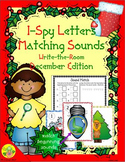 I-Spy Letters Matching Sounds (December Edition)