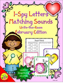 I-Spy Letters Matching Sounds (February Edition)