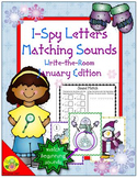 I-Spy Letters Matching Sounds (January Edition)