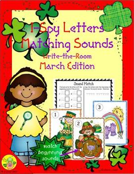 I-Spy Letters Matching Sounds (March Edition)