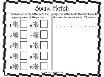 I-Spy Letters Matching Sounds (May Edition)