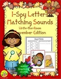 I-Spy Letters Matching Sounds (November Edition)