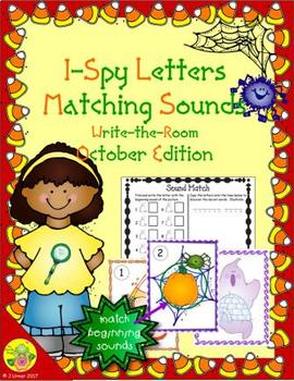 I-Spy Letters Matching Sounds (October Edition)