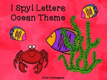 I Spy Letters! Ocean Theme