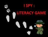 """""""I Spy"""" - Literacy Game"""