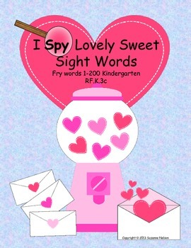 I Spy Lovely Sweet Sight Words 200