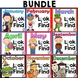 Look and Find MEGA BUNDLE (Sept-May Editions)