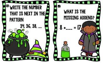 I Spy Math - October