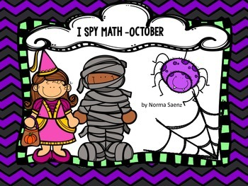I Spy Math - October