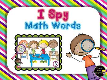 I Spy Math Words