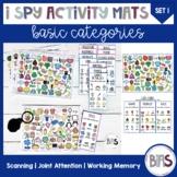 I Spy Activity Sheets for Basic Categories | Set 1 (Original Set)