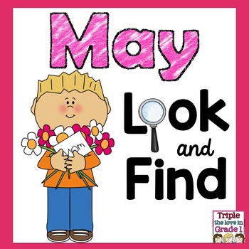 Look and Find May Edition (May Words & Sight Words)