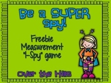 """I-Spy"" Measurement Activity Freebie"
