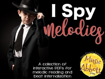 I Spy Melodies {A Bundled Set of Games for  Reading and Beat Internalization}