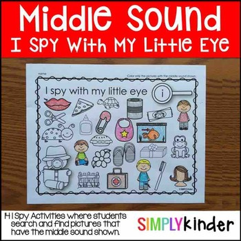 I Spy Middle Sounds