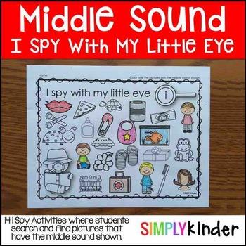 I Spy Middle Sounds