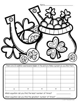 I Spy Multiplication Facts ~St. Patrick's Day ~ CUSTOMIZABLE!!