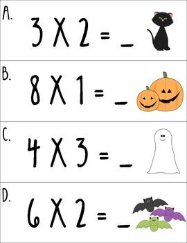 I Spy Multiplication! (Halloween Ed.)
