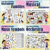 I Spy Music Activities Bundle | Print and Digital