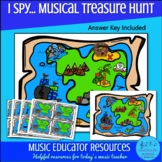 (I Spy...) Musical Treasure Hunt