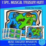 (I Spy...) Musical Treasure Hunt