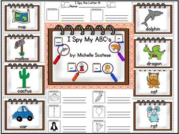I Spy My ABC's!