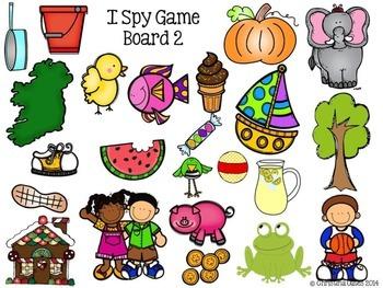 I Spy Nouns and Adjectives