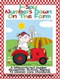 I Spy Numbers On The Farm-Differentiated Fun To Meet Common Core
