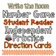 Numbers 1-10 {Number Words, Number Recognition, Counting and Cardinality}