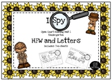 I Spy Open Court Unit 1 Letters and High Frequency Words