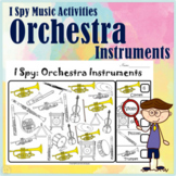 Instruments of the Orchestra    I Spy Music Activities   P