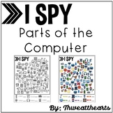 I Spy Parts of the Computer Worksheet